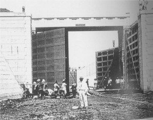 14 小名木川閘門工事