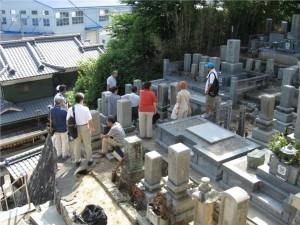 7 観音寺の宮本家のお墓周辺