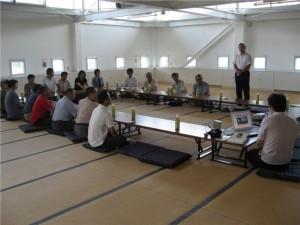 2008/08/09興居島での交流会会長のあいさつ