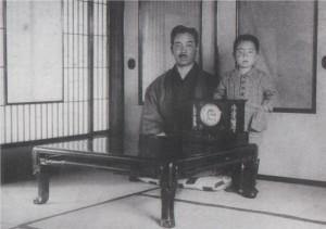 20 武之輔と長男靖(新潟時代)