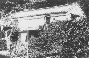 3 興居島旧宮本生家の土蔵(現存せず)