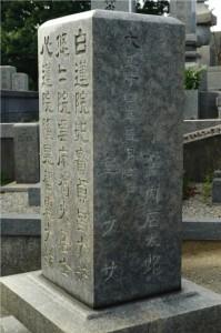 窪内石太郎の墓