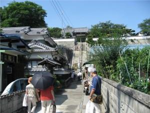 5 宮本家の菩提寺観音寺の全景